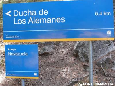 Senda Herreros - Puerto de Navacerrada - Valle de Fuenfría - Ducha de los Alemanes -Embalse Berceas